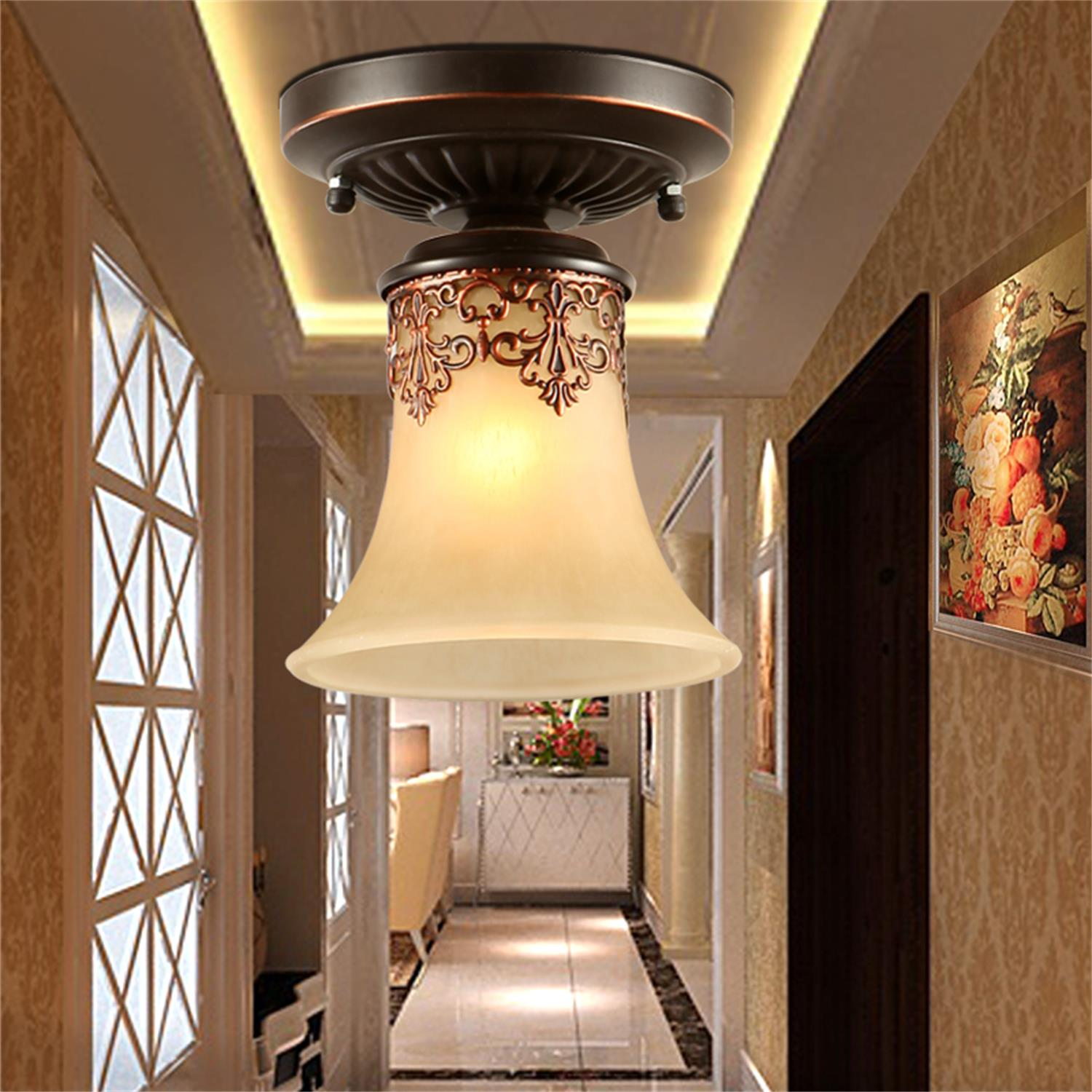 The Living Room W1: Vintage Chandelier Pendant Lamp Lighting Small Ceiling