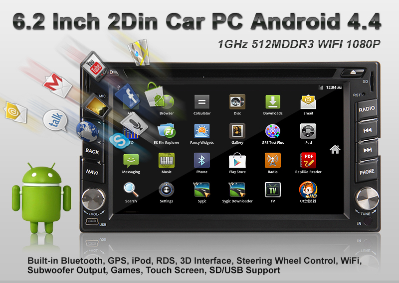 Low Price Single Din Android Car Stereo
