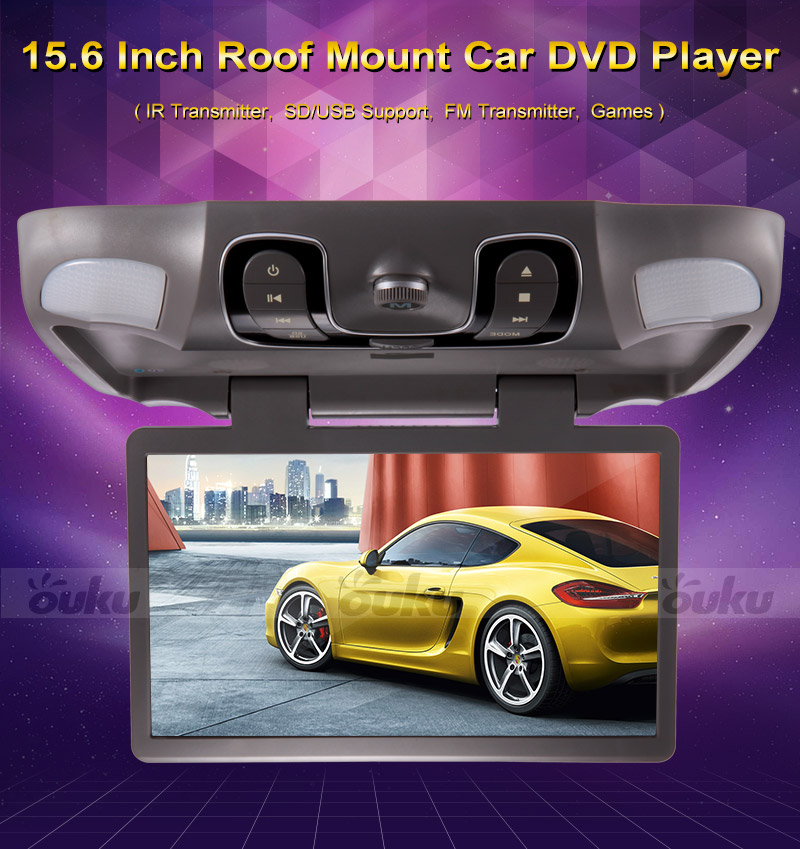lcd voiture plafond plafonnier fixation toit cran lecteur dvd game ir ebay. Black Bedroom Furniture Sets. Home Design Ideas