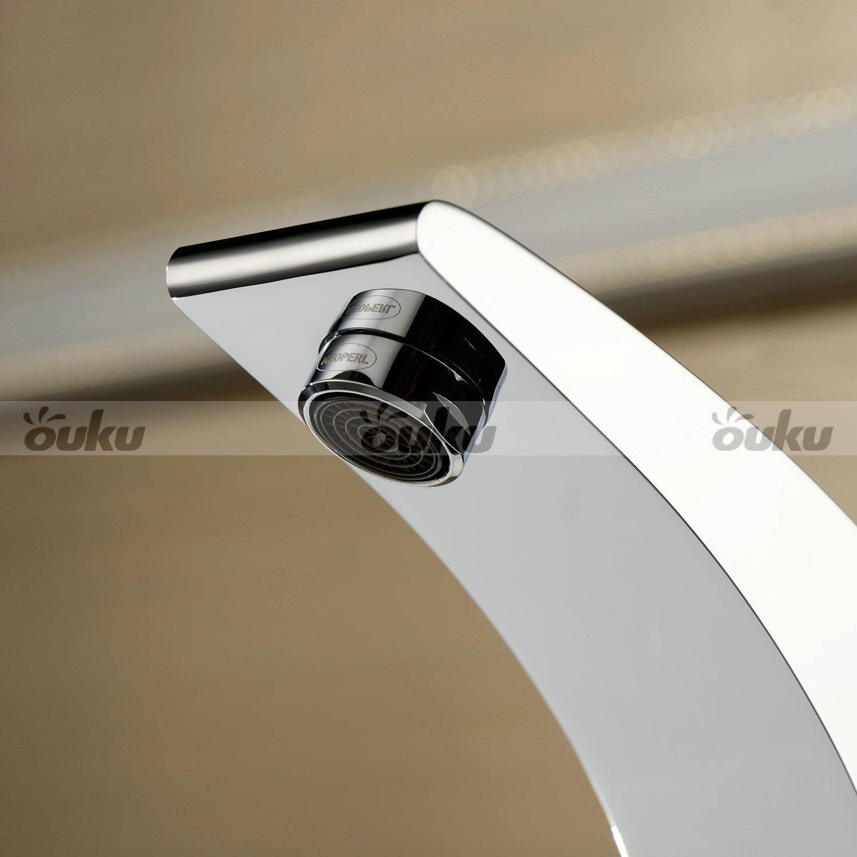 Moderno juego grifo de lat n vidrio mixer tap faucet - Grifos de laton ...