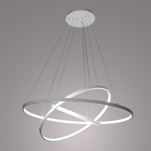 Fashion Stylish LED 3Ring Ceiling Lighting Chandelier