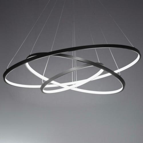 Modern Design LED 3Rings Chandelier Lighting Lights