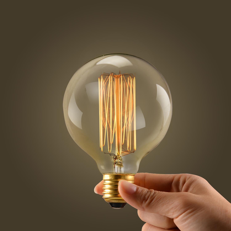 Ball Edison Vintage Retro Filament 110V/220V/40W E27 E26 ...