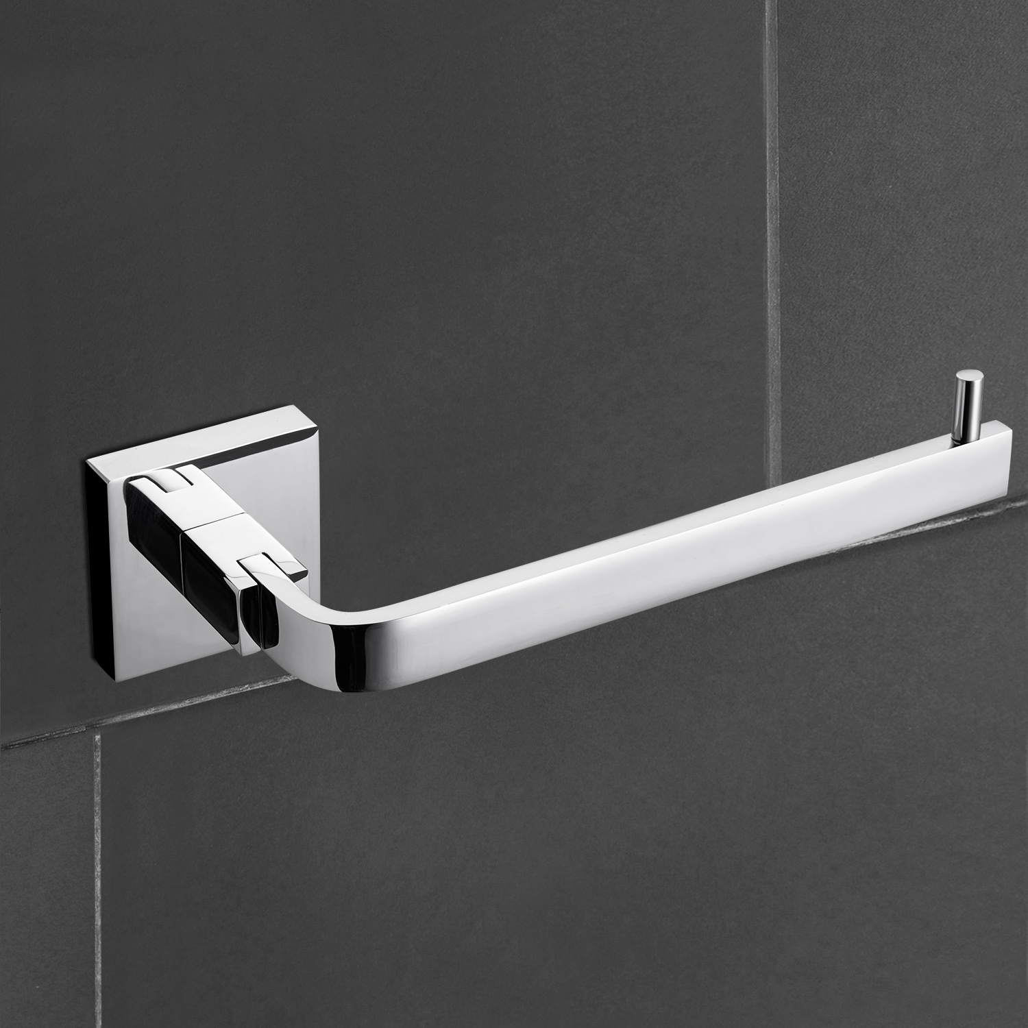 about modern chrome brass wall mounted bathroom towel rack robe hook