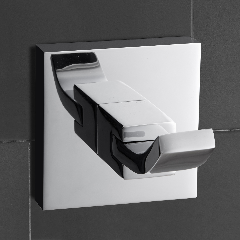 Robe Hooks For Bathrooms: Modern Chrome Brass Wall Mounted Bathroom Towel Rack, Robe