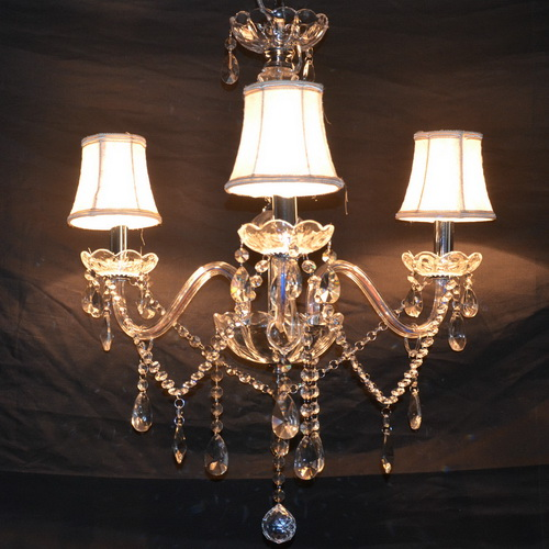 crystal electroplated chandeliers living room bedroom dining room