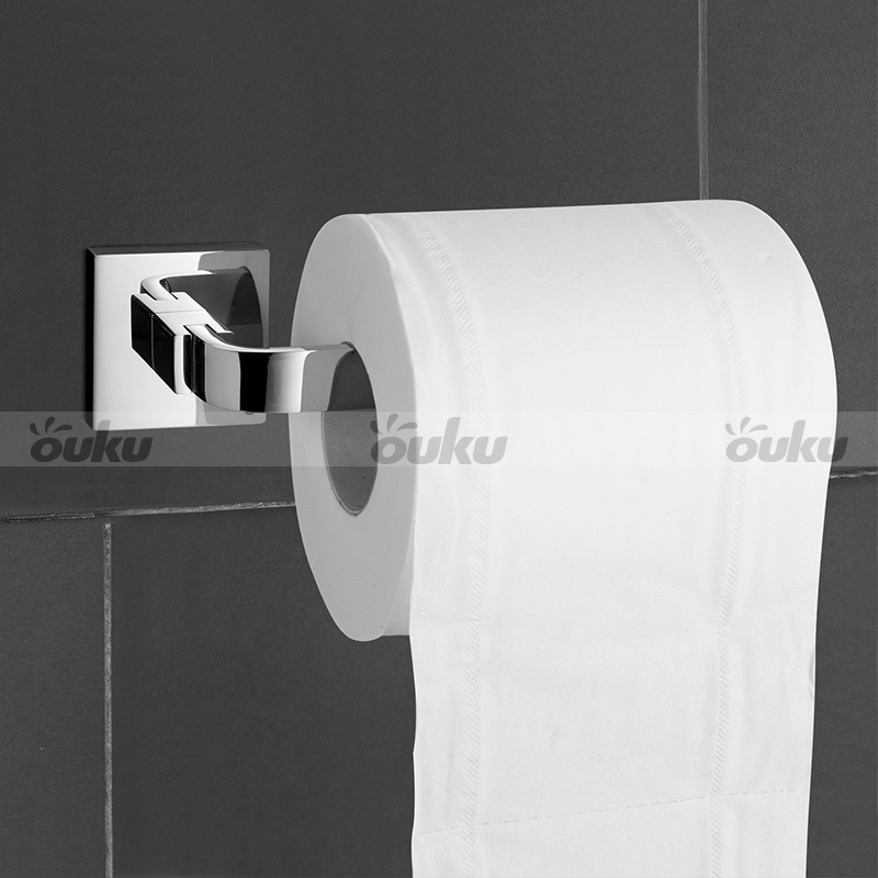 Chrome Toilet Tissue Paper Holder Bathroom Accessory