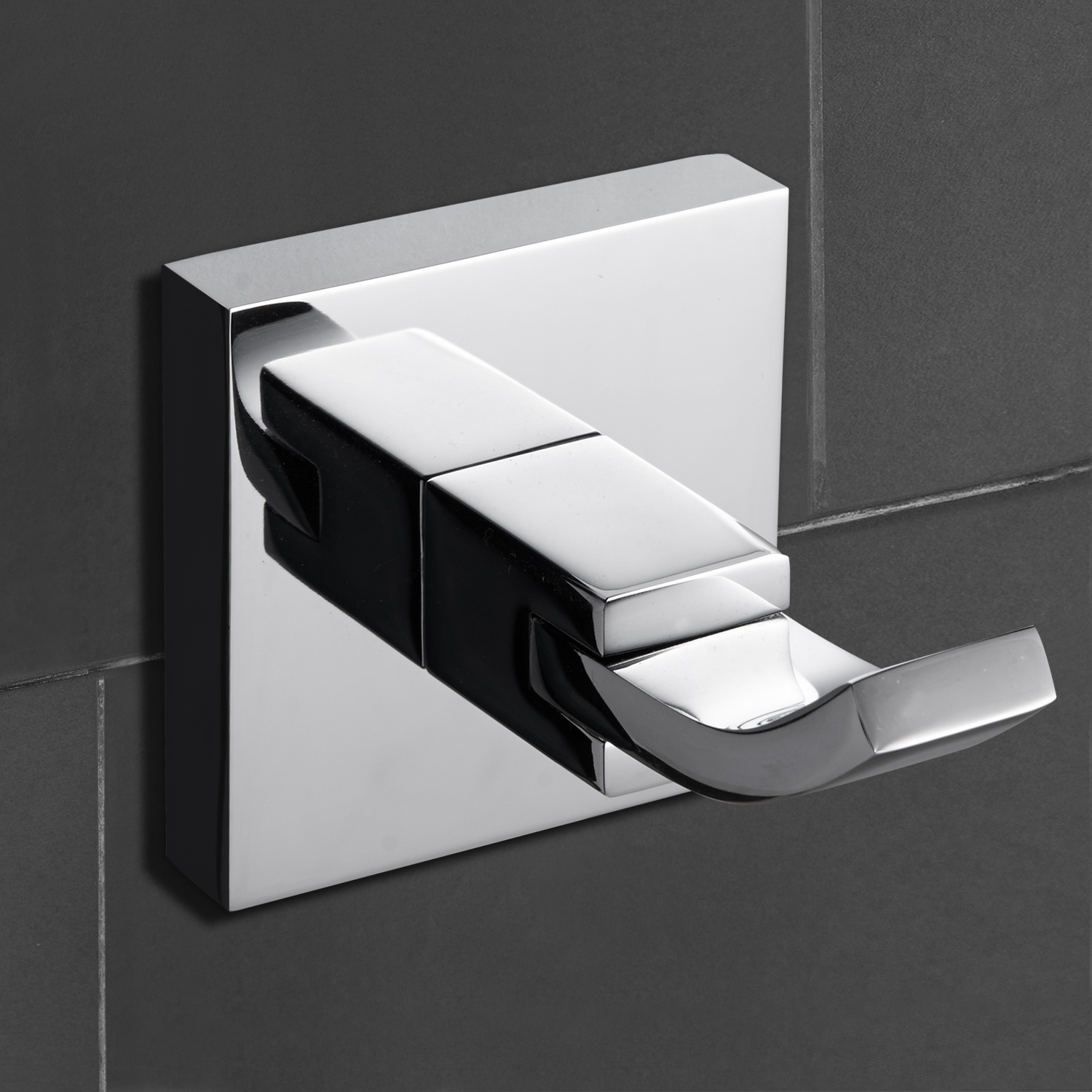 Chrome brass bathroom kitchen robe hook wall mounted - Chrome and brass bathroom accessories ...