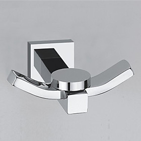 Robe Hook Cool Contemporary Brass Hotel bath Wall Mounted 64858