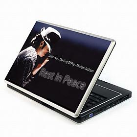 Michael Jackson Serie B?rbare Notebook Cover Beskyttende Hud M?rkat Med Håndled Skind (smq3421)