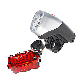 Complete Bike LED Kit 5-LED Front 6-LED Rear (5xAA)