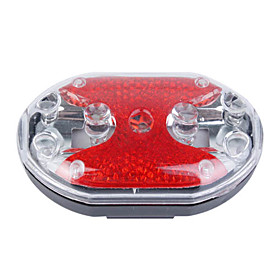 9-LED Bike Safety Strobe Light
