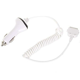 In-Car Charger for Apple iPad (White)