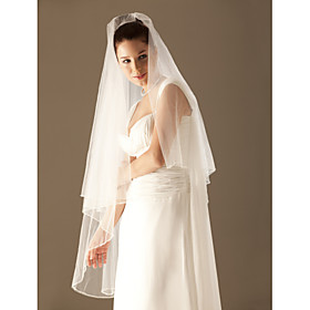 2 Layer Waltz Wedding Veil
