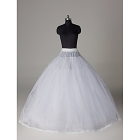 Slips Ball Gown Slip Floor-length 8 Nylon Tulle Netting plus size,  plus size fashion plus size appare
