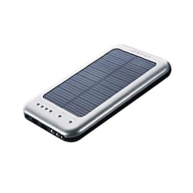 Solar Power with LED Flashlight (D006,2600mAh)