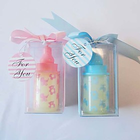 Baby Shower Party Favors Gifts-4Piece/Set Candle Favors Non-personalised Pink / Blue