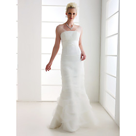 Lanting Bride Trumpet / Mermaid Petite / Plus Sizes Wedding Dress - Classic Timeless / Elegant Luxurious Vintage Inspired plus size,  plus size fashion plus size appare