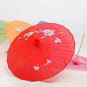 Red Silk Parasol $3.39 AT vintagedancer.com