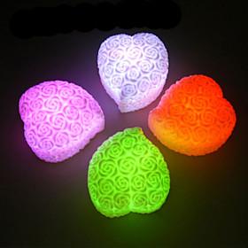 Color-changing Rose Heart LED Light
