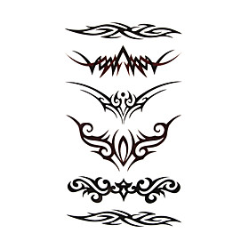 #(5) Tattoo Stickers Temporary Tattoos Totem Series Special Design / Disposable Body Arts Body / Arm 226002