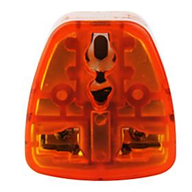 aus a todos los adaptador de viaje est?ar (10a-250, color naranja y gris)