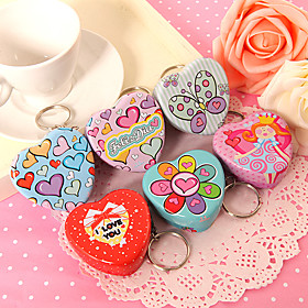 Heart Mint Tins –  Set of 12 (2 of Each Style) 254782