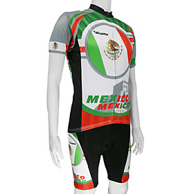 100% Polyester and Quick Dry Mens Cycling Short Suits (Mexico)