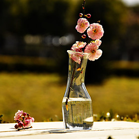 Table Centerpieces Chic Clear Glass Vase  Table Deocrations