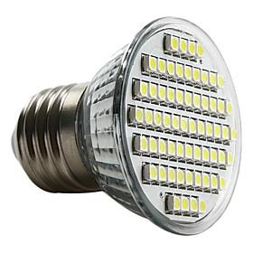 4W E26/E27 LED Spotlight MR16 60 SMD 3528 180 lm Natural White AC 220-240 V