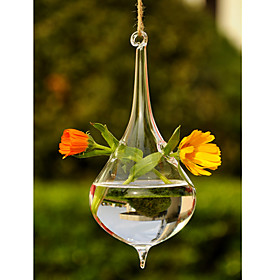 Table Centerpieces Artistic Hanging Glass Vase  Table Deocrations