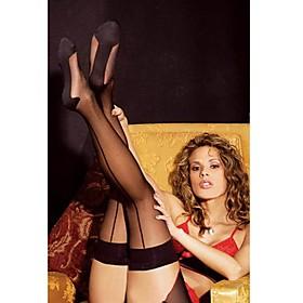Women's Sexy Perspective Stripe Stockings