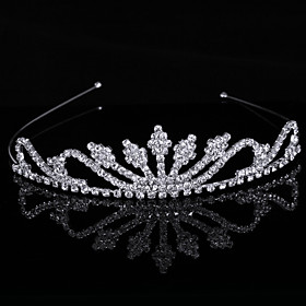 Gorgeous luxurious Cubic Zirconia In Alloy Tiara $5.99 AT vintagedancer.com