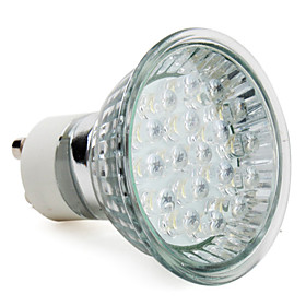 GU10 18-LED 90LM 1-1.2W 6000-6500K White Spot Bulbs (220-240V)