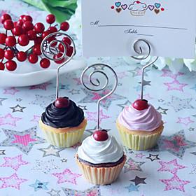 cupcake placecard holdere (sett av 4)