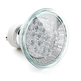 GU10 1.3W 21-LED 40LM Blue Light LED Spot Bulb (220-240V)