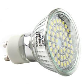 3W GU10 LED Spotlight MR16 48 SMD 3528 180 lm Natural White AC 220-240 V 382333