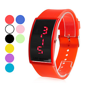 Men's Plastic Digital LED Wrist Watch (Assorted Colors)