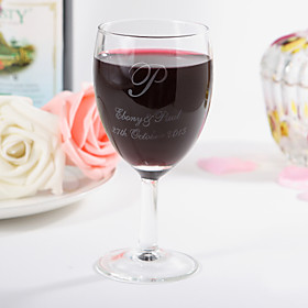 Personalized Red Wine Cup 519632