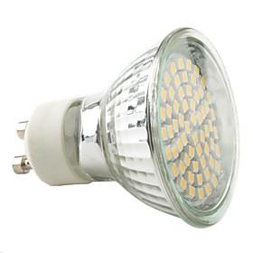 3W GU10 Точечное LED освещение MR16 60 SMD 3528 230 lm Тёплый белый / Естествен