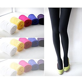 Colorful Fleece Leggings(A Pairs/Set) Candy color. Render pants 378119
