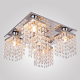 Ceiling Light Crystal Modern 5 Lights 159495