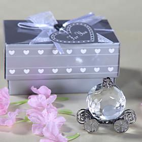 Gifts Bridesmaid Gift Crystal Cinderella Pumpkin Coach Keepsake