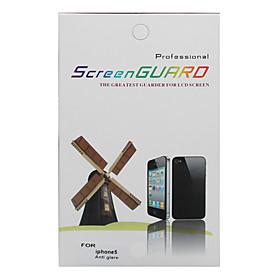 Anti-Glare Screen Protector con panno di pulizia per iPhone 5