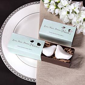 Ceramic Bird Salt Pepper Shakerss Wedding Favor (Set of 2)