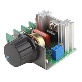 2000W Adjustable 90~220V Voltage Regulator для Dimming Light Lamps Speed Contro