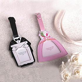 Bride Groom Design Bagasjemerke - Sett med 2