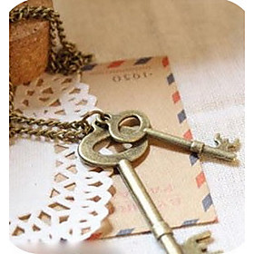 Women's Vintage Simple Keys Necklace