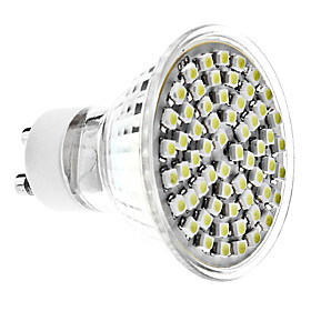 GU10 4 W 60 SMD 3528 350 LM Natural White MR16 Spot Lights AC 220-240 V 474749