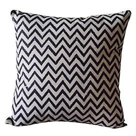 Classic Cotton/Linen Decorative Pillow Cover
